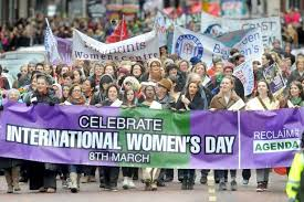 Womens day march
